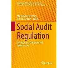Social Audit Regulation: Development, Challenges and Opportunities