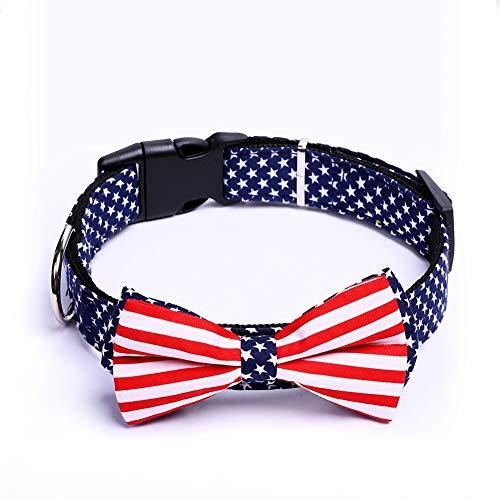 4th Of July Pet Costumes - CheeseandU 1PC American Flag Dog Cat