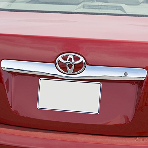 EAG 07-11 Toyota Camry Rear Hatch Cover Tailgate Liftgate Handle Trim Triple Chrome Plated ABS - Lid Cover Deck