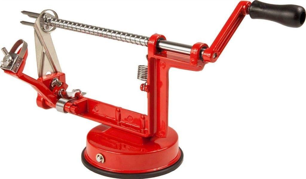 3in 1 Steel Fruit Potato Apple Machine Peeler Corer Slicer Cutter ARSUK