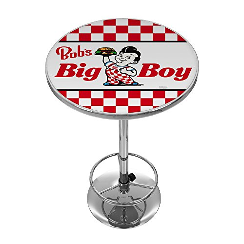 Bobs Big Burger Checkered Chrome Pub -