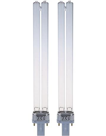 REFURBISHHOUSE 2pcs 11W Base de G23 Bombilla de Lampara UV Lampara de Esterilizador UV por el