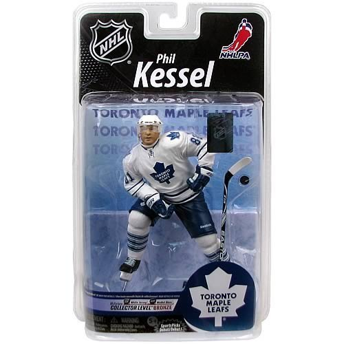 NHL Series 25 Phil Kessel Action White Jersey Figure