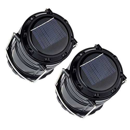 LED Solar Lantern Outdoor Hatori Batteries Powered Hanging Camping Lights Emergency Charging Bank for Android