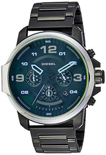 Diesel Men's DZ4434 Whiplash Stainless Steel and Black IP Watch