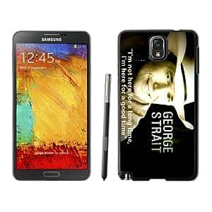 George Strait 3 one Case 167 Samsung Galaxy Note3 Black Phone Case 167
