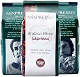 Ground Espresso Coffee Blend by Mixpresso, 10 Ounces Bags (Pack of 4)