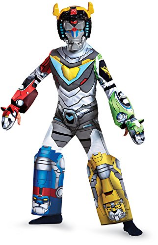 Voltron Deluxe Costume, Multicolor, Medium (7-8) (Voltron Kids Costume)