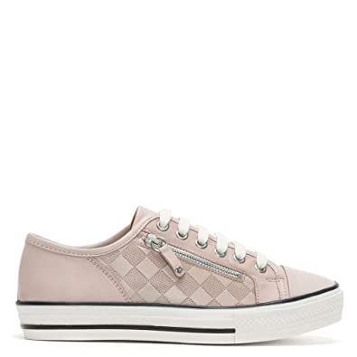 Moda In Pelle Fiarley Pink Leder Lace Up Up Lace Trainers 41 Pink Leder ... a375b6
