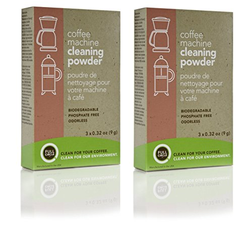 urnex-full-circle-biodegradable-coffee-machine-cleaning-powder-3x032-oz-9g-pack-of-2