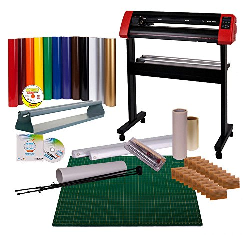 24 Quot Uscutter Laserpoint Vinyl Cutter Bundle Sign Cutting