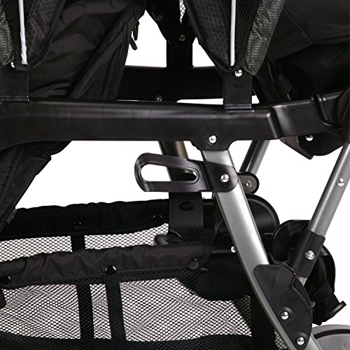 514QszicDzL - Graco Ready2Grow LX Double Stroller | Lightweight Double Stroller, Gotham