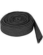 TOPINCN Nylon beschermhoes luiertas met flexibele kabel 7,5 meter voor lasslang Tig-zaklamp