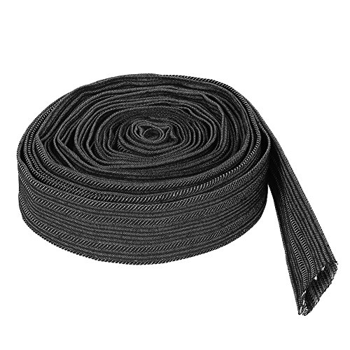 7.5m Nylon Protective Sleeve Sheath Cable Cover for Welding Torch Hydraulic Hose Cable Sleeves Wrap Protection