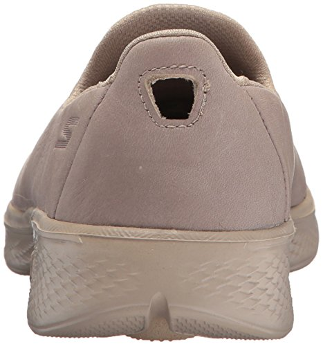 Skechers Performance Damen Go Walk 4-Wunsch Sneaker Taupe