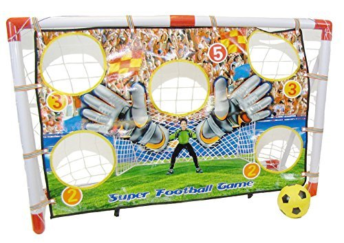 Childrens, Kids Football Target Goal Set - 1 Target Goal GREAT SIZE (1.2m wide x 0.8m tall) by Inside Out Toys