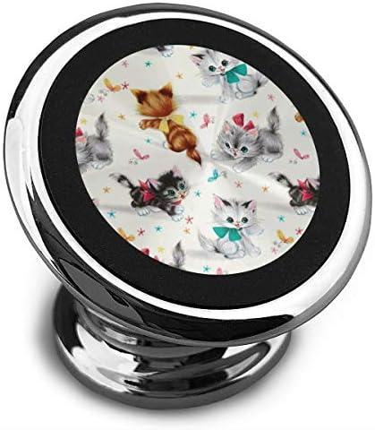 ダックスフント犬 携帯電話ホルダー おしゃれ 車載ホルダー 人気 磁気ホルダー 大きな吸引力 サポートフレーム 落下防止 360度回転