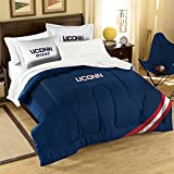NCAA Connecticut Huskies Twin/Full Size Comforter with Sham Set
