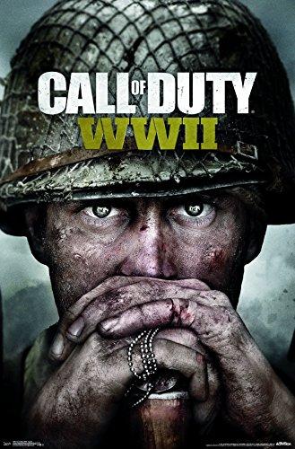 Trends International Wall Poster Call of Duty: Wwii-Key Art, 22.375 x 34