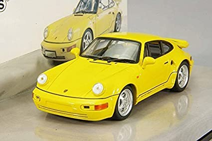 Minichamps 1992 Porsche 911 Turbo S 3.3, Leichtbau, yellow
