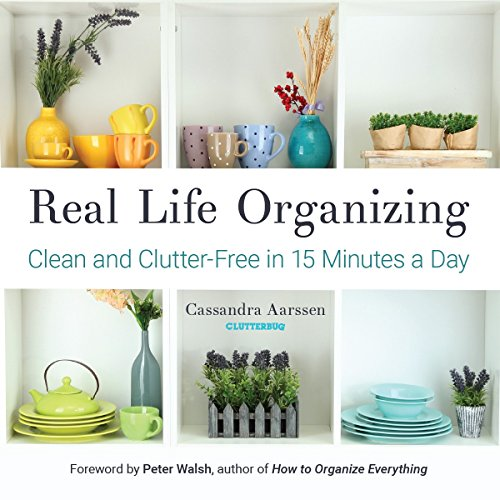 Real Life Organizing: Clean and Clutter-Free in 15 Minutes a ()