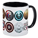 CafePress - Captain America 75Th Anniversary Twelve Mug - Unique Coffee Mug, Coffee Cup