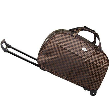 78dff52d28d8 Amazon.com: Minmin-lgx Luggage 20 Inch Rolling Duffle Trolley Bag ...