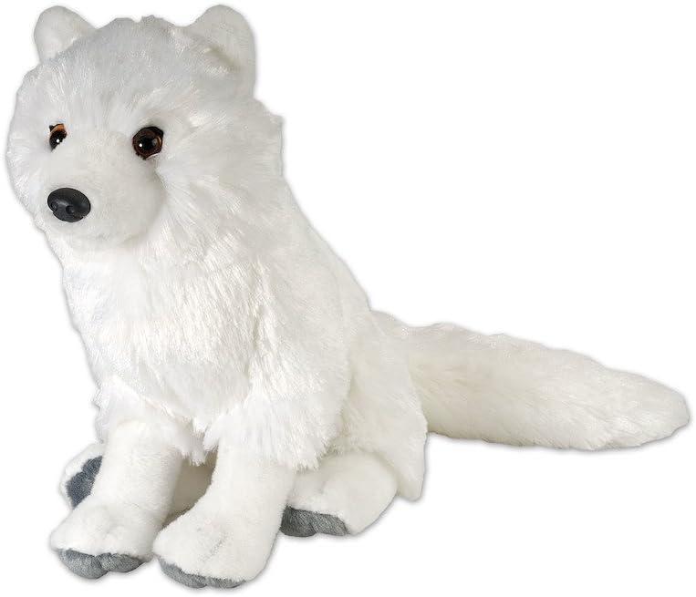 Silver Fox Stuffed Animal, Amazon Com Wild Republic Arctic Fox Plush Stuffed Animal Plush Toy Gifts For Kids Cuddlekins 12 Inches Toys Games