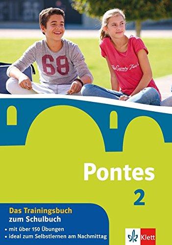 Pontes 2 - Das Trainingsbuch zum Schulbuch: 2. Lernjahr