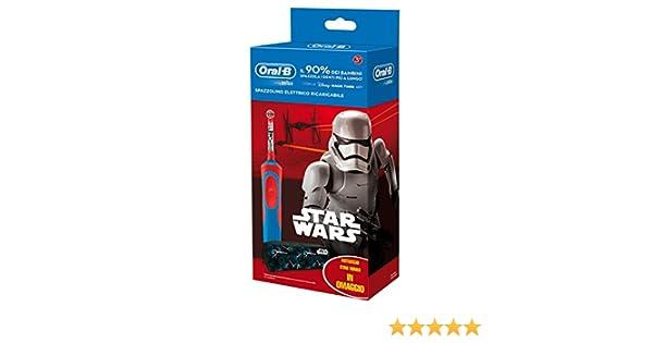 Oral-B 81633851-Cepillo dental oscilante, eléctrico con batería integrado, rojo/azul: Amazon.es: Salud y cuidado personal