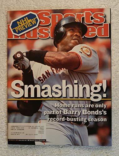 (Barry Bonds - San Francisco Giants - Smashing! - Sports Illustrated - October 8, 2001 - SI)