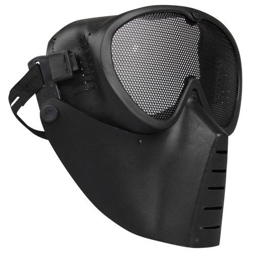 Ecloud ShopUS Airsoft Paintball BB Gun Full Face Goggle Protect Mask