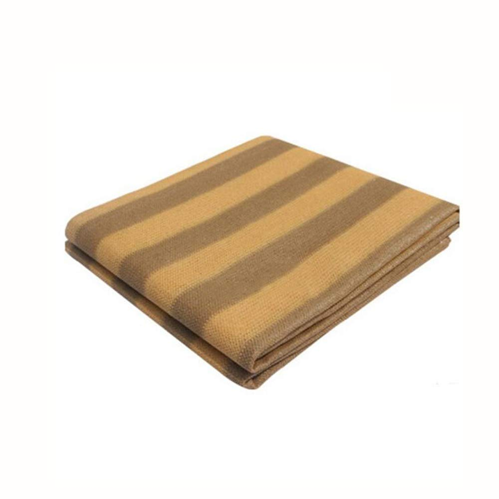Xiaolin Parasole per Tende da Sole Vela da Giardino per Esterno Parasole per Tende da Sole Tenda Parasole 90% UV Block Square Cream (Dimensioni   5x6m)