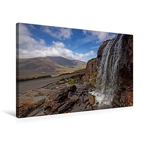 Calvendo Premium Textil-Leinwand 75 cm x 50 50 50 cm Quer, Wasserfall am Connor-Pass, Country Kerry   Wandbild, Bild auf Keilrahmen, Fertigbild auf Echter Leinwand. Irland - Natur pur Natur Natur dc5b20