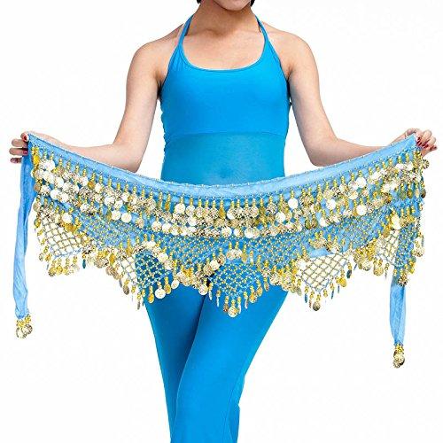 avec Dance nbsp;pièces 320 Style Ceinture Belly Jupe 6 Hip Écharpe RqAPX
