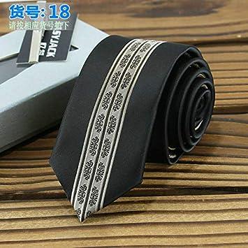 be16def687f1 Graven Skinny Ties for Men 6cm Positioning Jacquard Stripe Polyester  Gravata Kravat Wedding Business Dating Banque