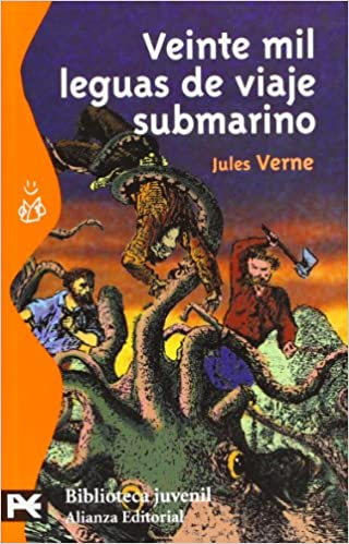 Amazon.com: Veinte mil leguas de viaje submarino (Biblioteca Tematica / Thematic Library) (Spanish Edition) (9788420636122): Jules Verne: Books
