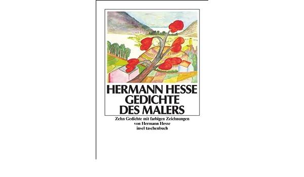 Gedichte Des Malers Hermann Hesse 9783458325932 Amazon