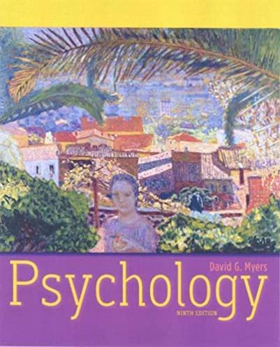 amazon com psychology 9th edition 8580001045382 david g myers rh amazon com psychology david myers 10th edition study guide Myers Psychology Chapter 8 Review Learning