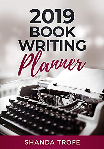 2019 Book-Writing Planner by [Trofe, Shanda]
