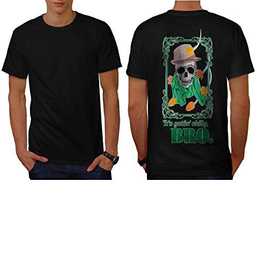 [Skull Hipster Street Costume Art Men NEW S T-shirt Back | Wellcoda] (Pregnant Basketball Costume)