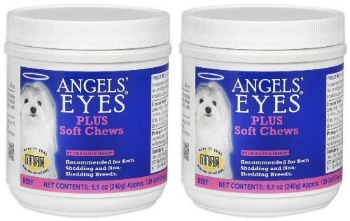 Angels' Eyes PLUS Tear Stain Remover Soft Chews Beef 240c...