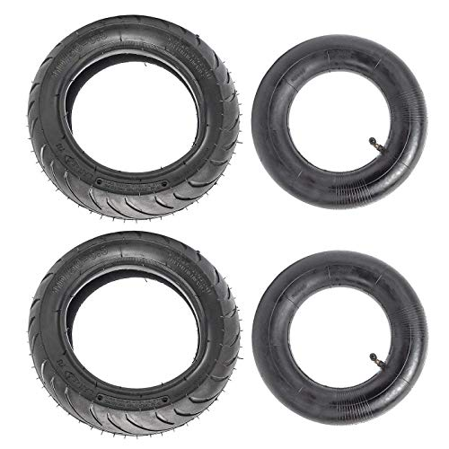 Pocket Bike Tire (WPHMOTO 2PCS 110/50-6.5 Tire and Inner Tube for 38cc 47cc 49cc Mini Pocket Bike Dirt Pit Bikes)