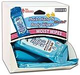 Handy Solutions Body Wipes Dispensit Case 144 pcs sku# 1865451MA