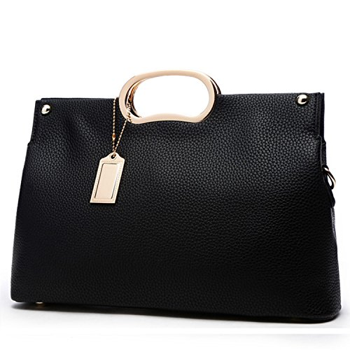 Handle Handbag (YNIQUE Women Top Handle Satchel Handbags Tote Purse Elegant Clutch Bag)