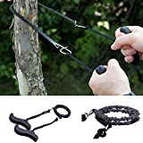 Generic Black, China : Portable Survival Pocket Chain Saw Chainsaw Fast Cutting Woodworking Hand Saw Tool Outdoor Camping Emergency Hand Chain Saw