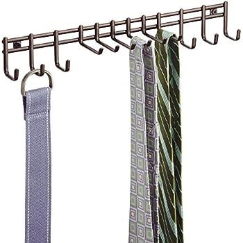 Amazon Com Belt Hanger Holder Rack Closet Organizer