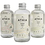 Caja con 24 botellas ELIXIR ATHIA sparkling water. 3 diferentes sabores con esencias 100% de frutas naturales, 0…