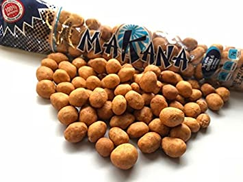 Makana Japanese Peanuts Dry Roasted 3.88 Ounce - Pack of 14