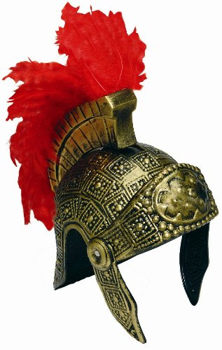 [Roman Gladiator Soldier Helmet Hat] (Army Men Halloween Costumes)